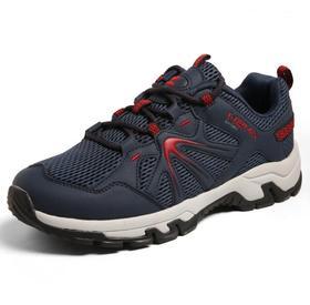 【潮流鞋子】秋冬户外越野跑鞋 情侣防滑登山鞋运动徒步鞋透气网布登山鞋