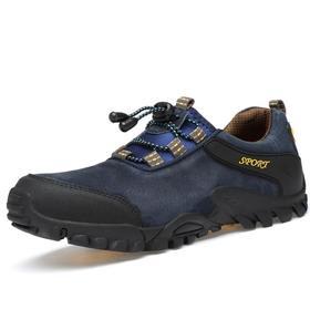 【潮流鞋子】大码登山鞋男秋季新款户外徒步鞋真皮耐磨山地越野跑鞋