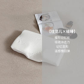 愉悦之家 记忆枕保健枕颈椎枕单人慢回弹记忆棉睡眠枕芯 一对