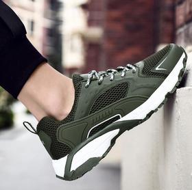 【潮流鞋子】春夏跑步鞋旅游鞋低帮网面户外防滑耐磨透气大码越野徒步运动鞋