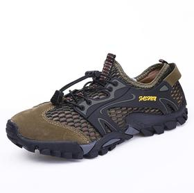 【潮流鞋子】跨境溯溪鞋男户外涉水外贸户外越野跑鞋夏季套脚外贸徒步男鞋