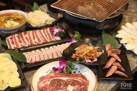 128元抢购猫舍炭火烧肉286元双人套餐!西班牙牛眼肉、调味猪五花、雪花肥牛、香辣鸡腿肉、台式烤肠...全是肉肉肉 吃到你满足!