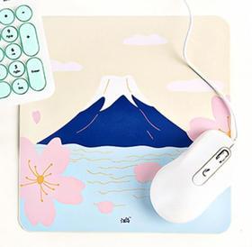 【鼠标垫】汪岛皮革鼠标垫-富士山/手势/雪山