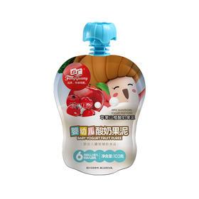 方广 婴儿辅食 宝宝零食 果汁泥 苹果山楂酸奶果泥103g招分销!可代发!