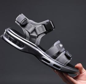 【潮流鞋子】气垫户外凉鞋男 夏季韩版青春潮流运动休闲男式沙滩鞋