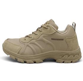【潮流鞋子】跨境男士透气低帮军靴户外越野低帮作战靴防滑减震超轻作战靴大码