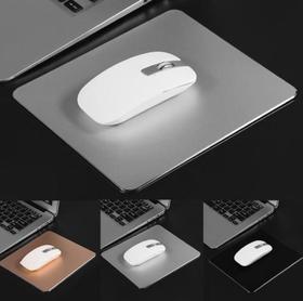 【鼠标垫】铝合金防滑游戏鼠标垫 双面精确控制鼠标垫 PC双面鼠标垫22*18cm