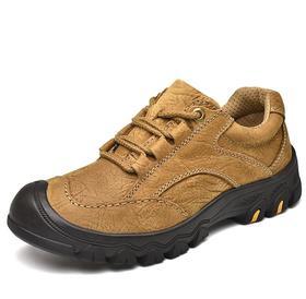 【潮流鞋子】秋冬越野跑鞋男士户外登山鞋真皮新款户外登山鞋男真皮休闲