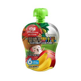 方广 婴儿辅食 宝宝零食 果泥 什锦水果果汁泥103g(6个月以上适用)招分销!可代发!