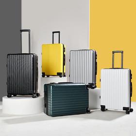 NTNL 磨砂行李箱360度万向轮拉杆箱   复合抗压耐磨,新升级双排静音轮