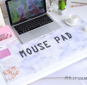 【鼠标垫】韩国小清新简约鼠标垫大号 防水鼠标垫