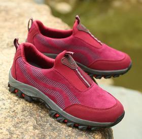 【潮流鞋子】防滑防水耐磨户外登山鞋女 大码徒步旅游鞋男鞋