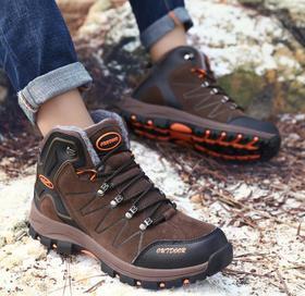 【潮流鞋子】登山鞋男秋冬户外鞋防滑韩版越野跑鞋耐磨徒步鞋