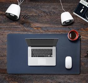 【鼠标垫】键盘办公桌垫定制皮革pvc鼠标垫