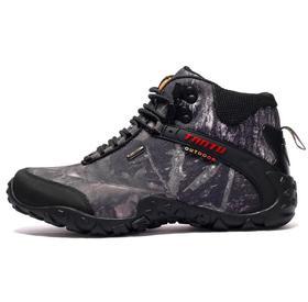 【潮流鞋子】秋冬户外鞋男士高帮登山鞋运动鞋保暖徒步鞋迷彩时尚