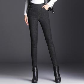 【清仓特价 不退不换】XZH-U2162新款修身加厚高腰显瘦保暖白鸭绒铅笔裤TZF