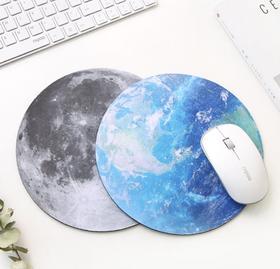 【鼠标垫】星球鼠标垫超柔软天然橡胶垫子