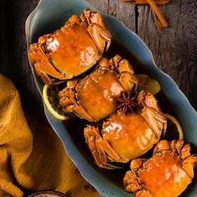 【不等星品】 手作花雕熟醉蟹 全母装 黑珍珠二钻兰轩餐厅出品