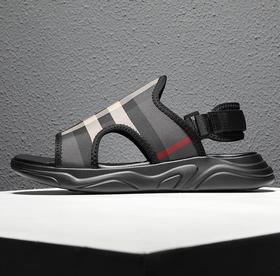 【潮流鞋子】凉鞋男潮流厚底2019夏季新款越南男士沙滩鞋户外凉拖鞋男