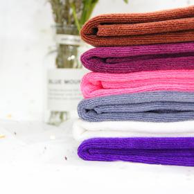 切边开洞床头巾60*90粉色咖色灰色白色紫罗兰粉色