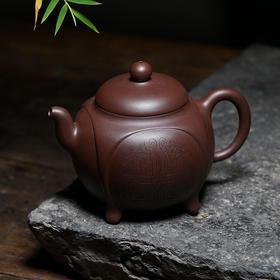 国家级工艺美术师刘华手工制紫砂壶——鼎盛四方