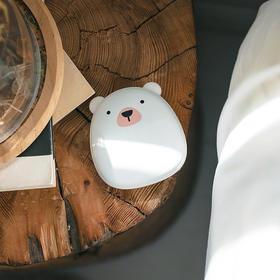 【为思礼】极地物种充电暖手宝 口袋中的温暖 移动电源 极速发热双面均匀发热 环保理念顺滑触感爱不释手 USB循环充电