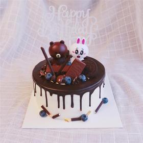 巧克力布朗熊