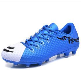 【足球鞋】男女款足球鞋儿童青少年学生胶钉长钉碎钉平底草地室内训练运动鞋