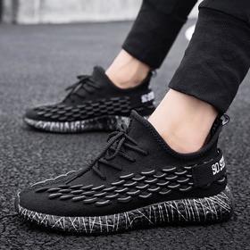 【网球鞋】男士运动休闲鞋透气飞织椰子鞋跨境潮鞋