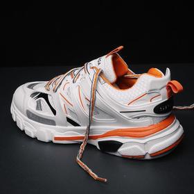 【足球鞋】秋冬季潮鞋三代休闲运动鞋男鞋透气大底组合男鞋ins的鞋