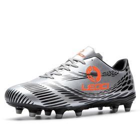【足球鞋】足球鞋青少年儿童成人学生大码跨境男女低帮皮面胶钉长钉底运动鞋