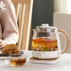 鸣盏煮茶器  黑茶养生壶全自动玻璃家用办公室小型多功能蒸汽煮茶壶