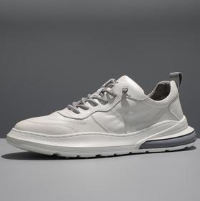【网球鞋】新款韩版小白鞋潮流百搭真皮板鞋男士休闲鞋运动鞋透气男潮鞋
