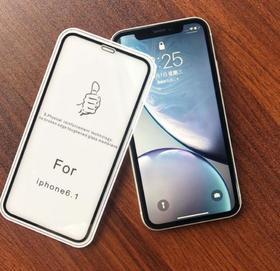 【手机膜】苹果xsmax钢化膜XR手机膜适用iphone高清全屏玻璃保护膜