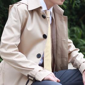男士青年款防风防雨风衣(带可拆卸风雨帽和夹棉)