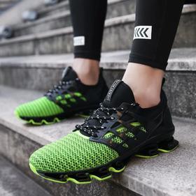 【网球鞋】网布跑步鞋坦克底运动鞋网面刀锋男鞋