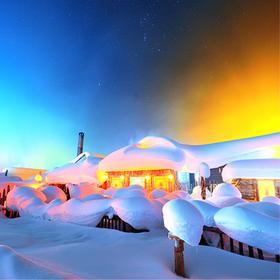 【冰雪盛宴】2019房车游东北雪乡、长白山、亚布力滑雪、镜泊湖、雾凇岛经典7天6晚深度之旅!