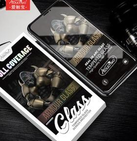 【手机膜】适用iPhoneXS MAX钢化膜3D苹果x二强钢化膜 6/7/8plus全屏手机膜