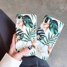 【手机壳】欧美花朵适用苹果11手机壳iPhone11promax磨砂