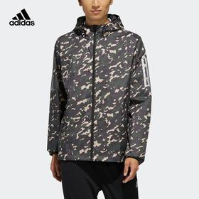 Adidas阿迪达斯  AI WB CAMO 男款迷彩运动夹克外套