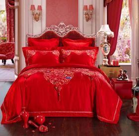 【婚庆套件】纯棉婚庆四件套高档床上用品