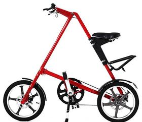 【自行车】折叠自行车 铝合金折叠自行车14寸16寸自行车 女式轻便一件代发