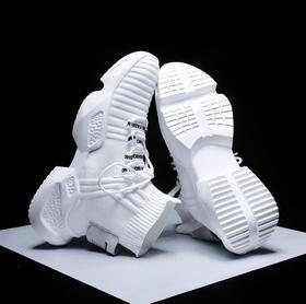【羽毛球鞋】新款男鞋网红ins潮流袜子鞋透气高帮飞织运动潮鞋运动鞋男