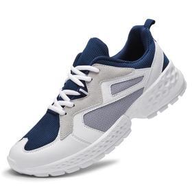 【羽毛球鞋】码男鞋超轻网布透气舒适复古秋冬慢跑鞋休闲运动鞋