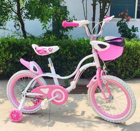 【自行车】儿童女款车16寸男女童车宝宝脚踏车山地车3-7岁