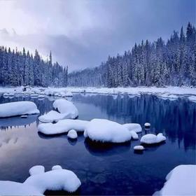 【新疆冬季】冰雪奇缘喀纳斯--童话世界7日之旅!