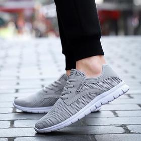 【羽毛球鞋】男士透气运动鞋网面跑步鞋大码羽毛球鞋单双