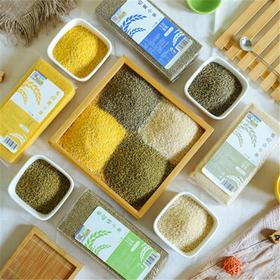 生活选集有机四色小米 黄小米+黑小米+白小米+绿小米(共1600g)