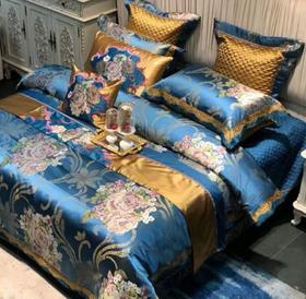 【婚庆套件】欧式床上用品四件套高档奢华美式结婚床品