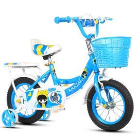 【自行车】新款儿童自行车公主款自行车12-14-16单车小孩童车3456岁宝宝车